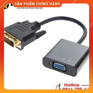 [Mã ELFLASH5 giảm 20K đơn 50K] Cáp chuyển DVI-D DVI 24+1 sang VGA giá rẻ dailyphukien