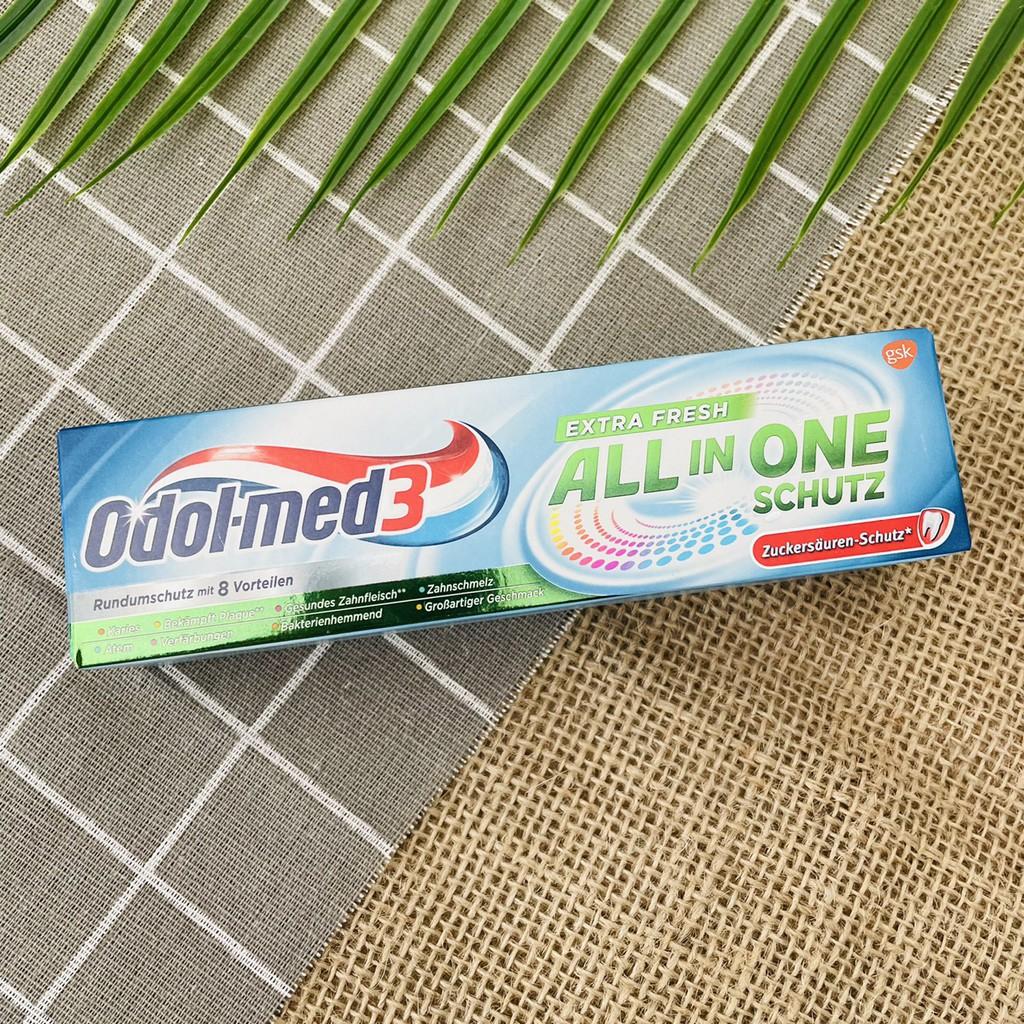 Kem đánh răng Odol-med3 all in one (hàng Đức)