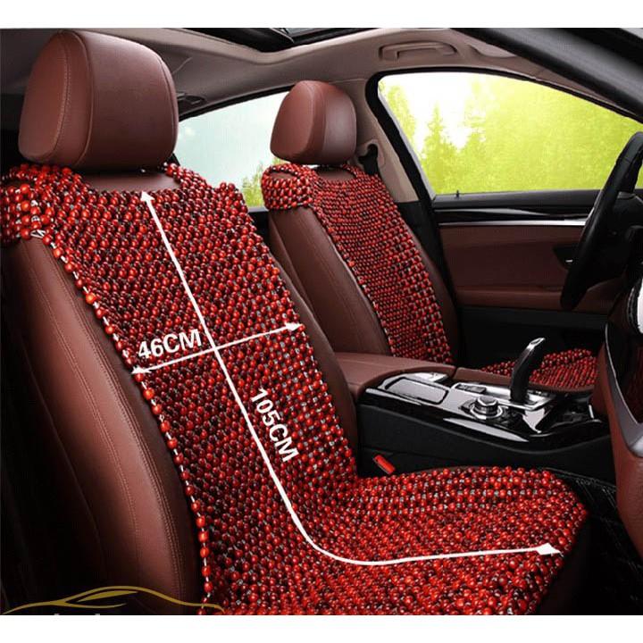 Lót hạt gỗ nhãn, Hương, Pơ mu cho ghế ô tô và ghế văn phòng.