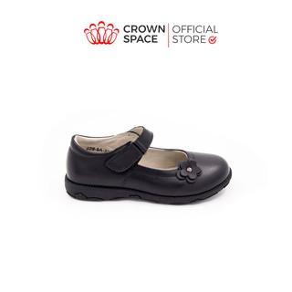 Giày Búp Bê Đi Học Bé Gái Crown UK School Shoes CRUK3039 Size 29-38/4-14 Tuổi