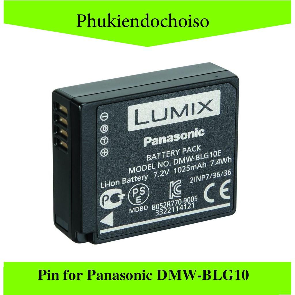 Pin thay thế pin máy ảnh for Panasonic DMW-BLG10