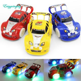 Toy ♡ Kid Toy Christmas Automatic Steering Flashing Music Racing Car Electric Toy