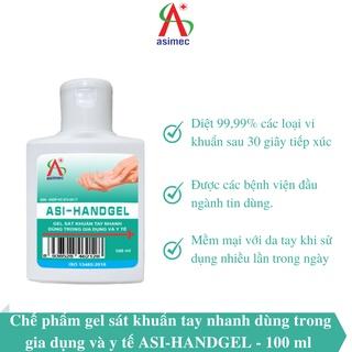 Gel rửa tay khô ASI HANDGEL 100ml thumbnail