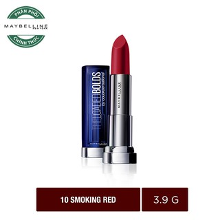 Son Maybelline #10 SMOKING RED