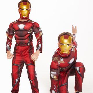 (CÓ SẴN) Trang Phục Hóa Trang Iron Man, Bộ Đồ Hoá Trang Iron Man Cho Bé Trai, Trang Phục Hóa Trang Halloween