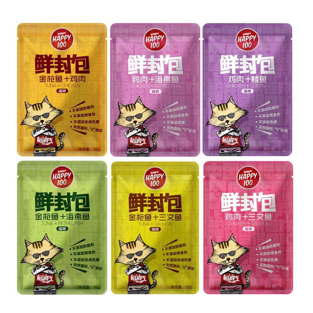 Pate Wanpy Happy 100 cho mèo gó