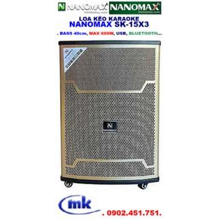Loa kéo NANOMAX SK-15X3 thumbnail