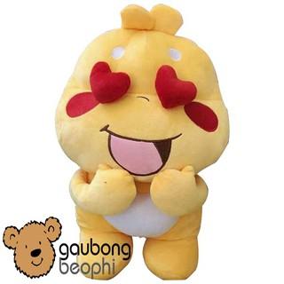 Gấu bông Sticker Qoobee thần thánh hàng nhập cao cấp size 50cm, món quà đồ chơi tuyệt vời cho các bé