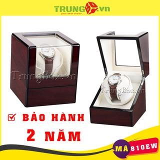 Hộp Xoay Đồng Hồ Cơ 1 Xoay Vỏ Gỗ Sơn Mài - Mã 810EW SAIKE Chính Hãng thumbnail