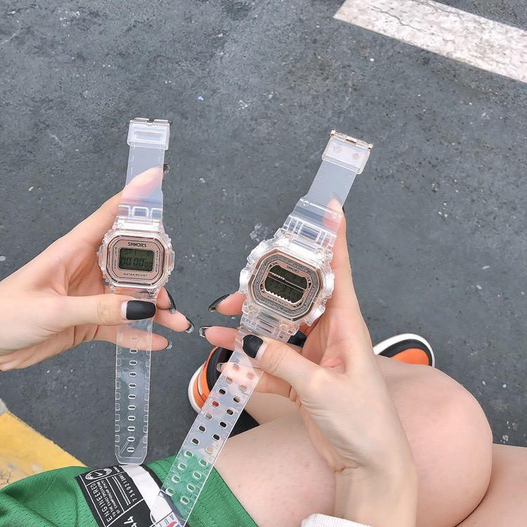 Đồng hồ đeo tay nam nữ Shhors unisex thời trang DH69 tiện dụng