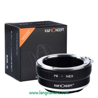 Ngàm Chuyển ống kính Practica PB-Nex hiệu K&F Concept