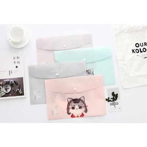 tập đưng tài liệu dễ thương tập đựng tài liệu mèo túi đựng tài liệu A4 clear bag - 3499528 , 1306612961 , 322_1306612961 , 15000 , tap-dung-tai-lieu-de-thuong-tap-dung-tai-lieu-meo-tui-dung-tai-lieu-A4-clear-bag-322_1306612961 , shopee.vn , tập đưng tài liệu dễ thương tập đựng tài liệu mèo túi đựng tài liệu A4 clear bag