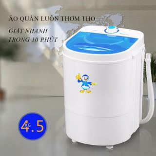 Máy giặt Mini 4,5Kg dành cho trẻ nhỏ và đồ cá nhân