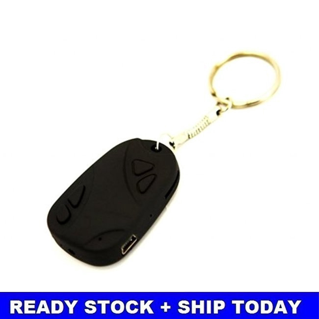 808 Car Key Chain Spy Camera Recorder 720*480 TF – New Giá chỉ 105.000₫