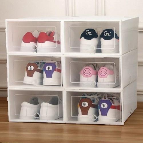10 hộp giày nhựa cứng