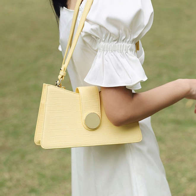 Túi da đeo chéo CROCODILE thời trang cho nữ