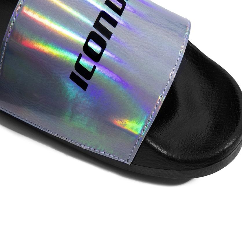 Dép Quai Ngang ICON DENIM In Hologram