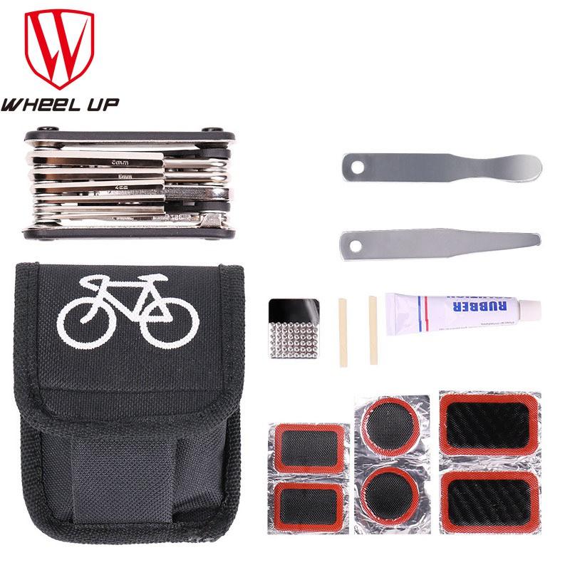 Bộ dụng cụ sửa chữa lốp xe đạp Mtb thiết kế 16 trong 1 tiện lợi chất lượng cao