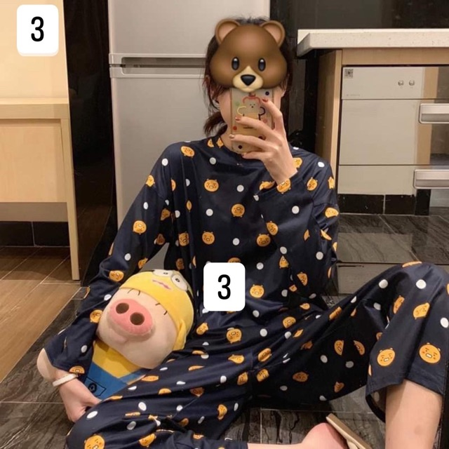 Bộ Pijama Hoạt Hình Cute | WebRaoVat