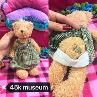 Teddy hãng museum nhồi bông 45k