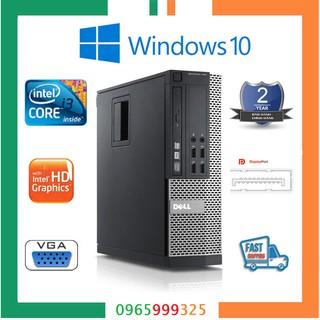 Máy tính để bàn Dell nhập khẩu intel core i3 2100, Ram 4GB, ổ cứng HDD 250GB. Tặng usb thu wifi. thumbnail