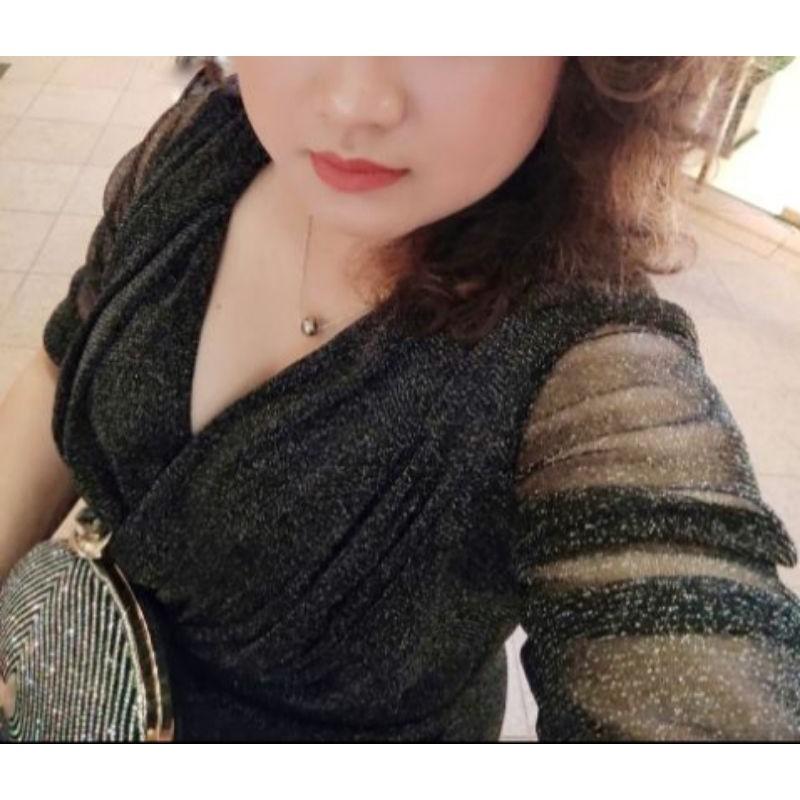 Mặc gì đẹp: Sang chảnh với [Rẻ Vô Địch] Đầm Body Chất Nhũ Kim Tuyến ( Size S-M-L-XL ) ĐẦM DỰ TIỆC CAO CẤP cổ V đắp chéo HÀNG THIẾT KẾ RẺ ĐẸP