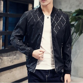 Mens Jacket Striped Fashion Leisure Coat Outerwear Tops SFGHOUSE