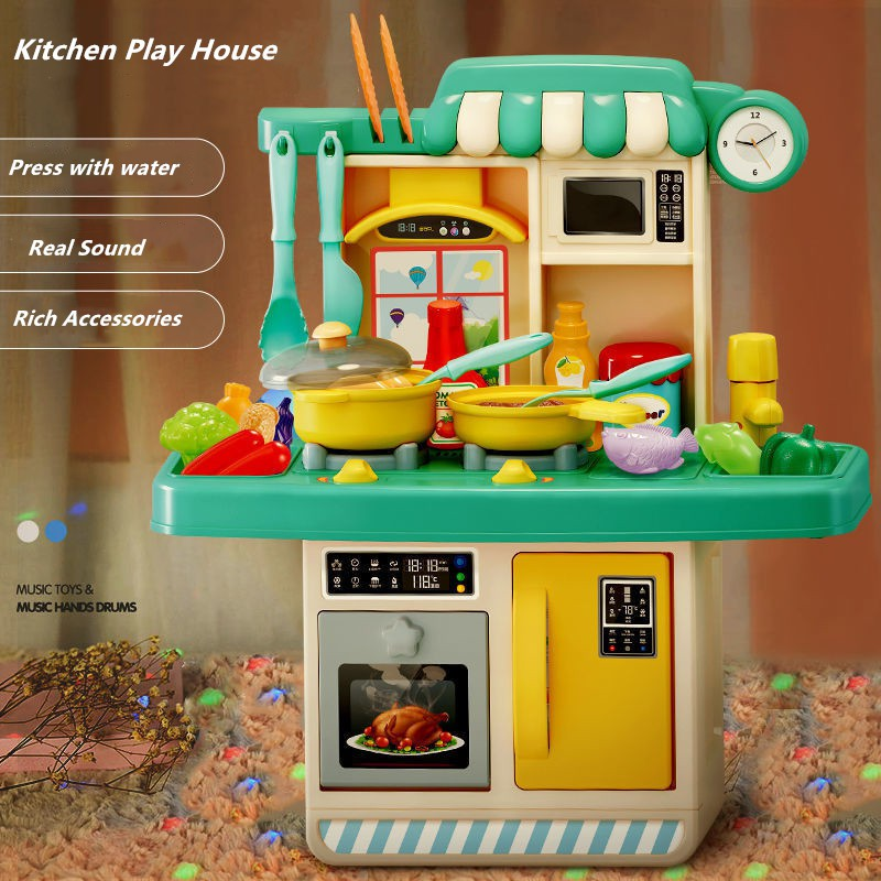 Bộ Đồ Chơi Nấu Ăn Dành Cho Trẻ Em