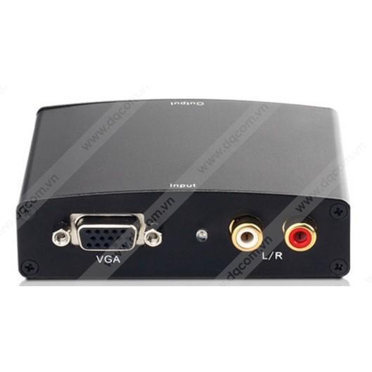 Bộ chuyển đổi VGA sang HDMI China HD Video Converter siêu nhanh - màu đen