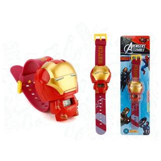 Đồng hồ kỹ thuật số kiểu dáng hoạt hình Marvel Avenger cho trẻ em
