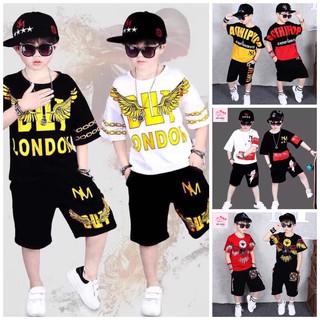 Bộ bé trai size lớn bộ bé trai hip hop quần áo bé trai size đại quần áo bé trai sành điệu bộ hip hop cho bé