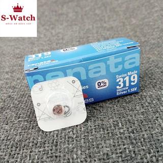 Viên pin đồng hồ SR527SW 527 - 319 Renata chính hãng Thuỵ Sỹ thumbnail