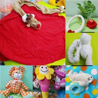 Gấu bông lô đồ chơi, khăn mền