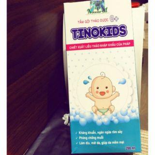 Nước tắm thảo dược Tinokids