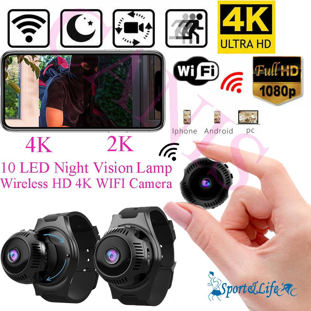 SL-Mini UHD 4K 1080P Camera Wireless WIFI IP Security Camcorder Night Vision Cam Giá chỉ 1.017.912₫