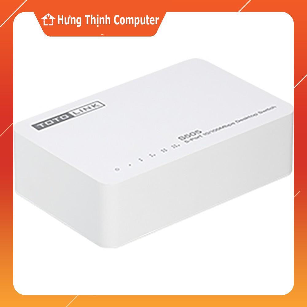 [Nhập ELCLMAY hoàn 30K xu đơn từ 200K]Thiết bị chia mạng TOTOLINK S505 – Bảo hành chính hãng 24 tháng Giá chỉ 99.000₫