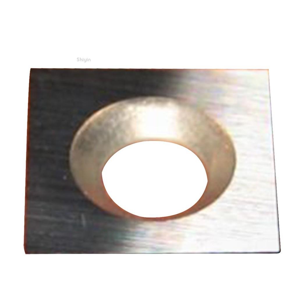 Shiyin✨3pcs New 11*11*2mm*30° Square Carbide insert 2