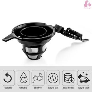Compatible with Hamilton Beach FlexBrew 49979/ 2 Way Reusable Refillable Coffee Filter Basket Capsules Cup
