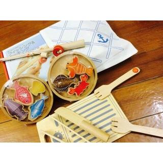 Bộ câu cá kèm dụng cụ chế biến xuất nhật