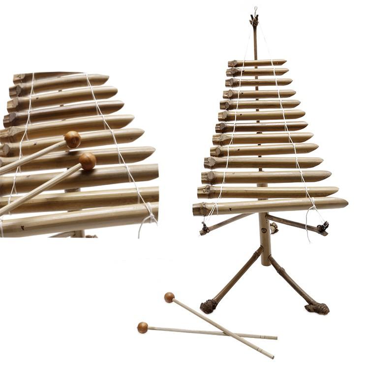 Đàn T'rưng tre trúc (mini)-nhạc cụ dân tộc tây nguyên