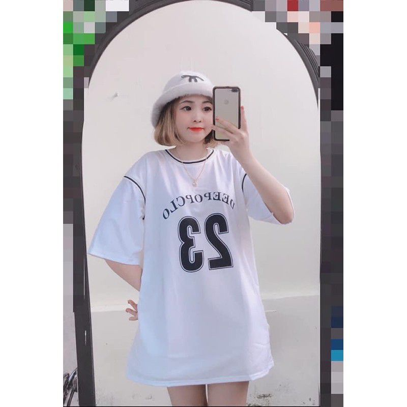 Mặc gì đẹp: Thoải mái với Bộ đồ thể thao bóng rổ thun nam nữ dáng rộng số 23 unisex,  chất liệu vải mềm mịn, thoáng mát