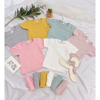 [Mã FAMAYFA2 giảm 10K đơn 50K] Siêu phẩm set quần áo thông hơi xuất Nhật mặc hè siêu thoáng mát cho bé