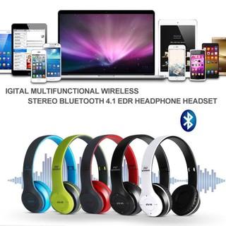 Tai Nghe Bluetooth P47 Có Khe Cắm Thẻ Nhớ - Âm Thanh Cực Chất