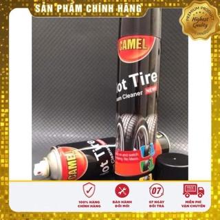 Bình xịt đánh bóng đen dưỡng lốp lốp ô tô CAMEL 650ml thumbnail