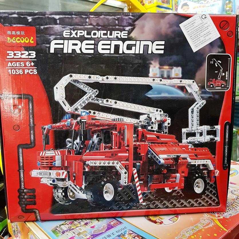(Tặng 3 xếp hình gỗ 30k) Lego 2 in 1 Xe cứu hỏa 1036pcs - Exploicure Fire Engine 3323 - 2972928 , 804446926 , 322_804446926 , 800000 , Tang-3-xep-hinh-go-30k-Lego-2-in-1-Xe-cuu-hoa-1036pcs-Exploicure-Fire-Engine-3323-322_804446926 , shopee.vn , (Tặng 3 xếp hình gỗ 30k) Lego 2 in 1 Xe cứu hỏa 1036pcs - Exploicure Fire Engine 3323