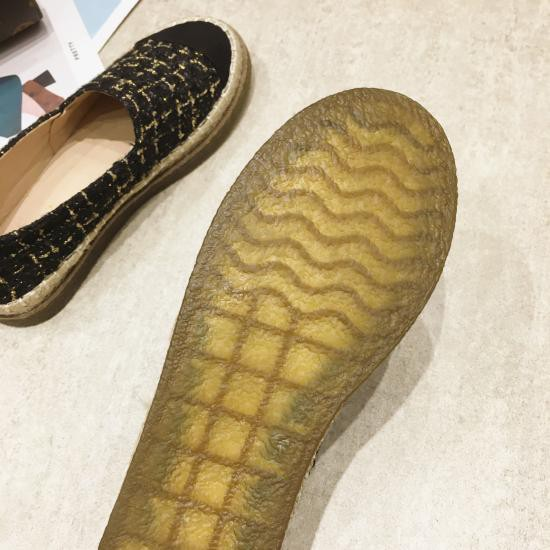 [Sẵn] Giày loafer đế cói êm chân