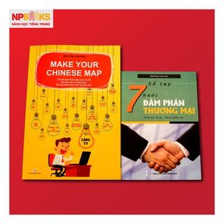 Combo Sách Make your Chinese map + 7 bước đàm phán thương mại song ngữ Trung Việt - Có phiên âm tiếng Trung thumbnail