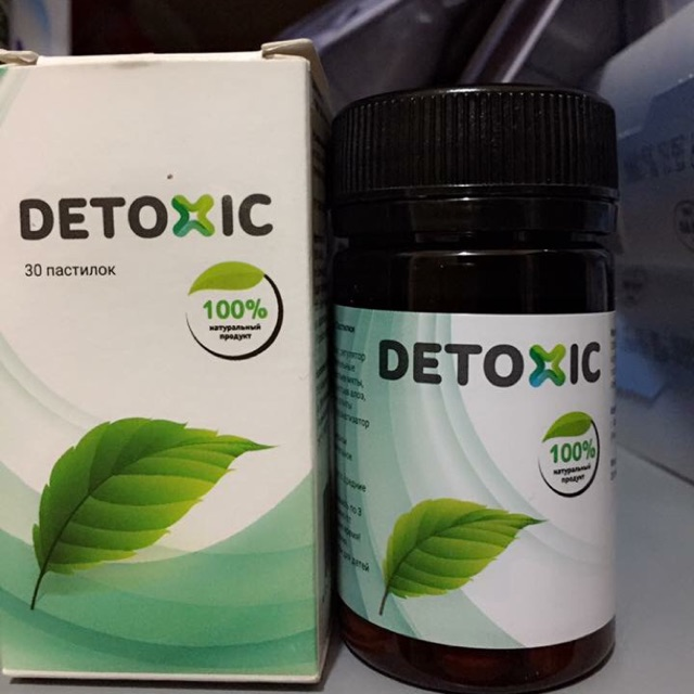 Detoxic chống ký sinh trùng
