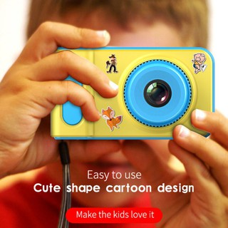 2.0 Inch HD Kid Cartoon-look Digital Camera, Video/ Audio Recorder Daily Cameras For Boys And Girls