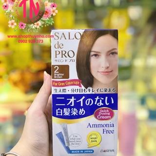 Thuốc nhuộm tóc ăn bạc Salon de Pro